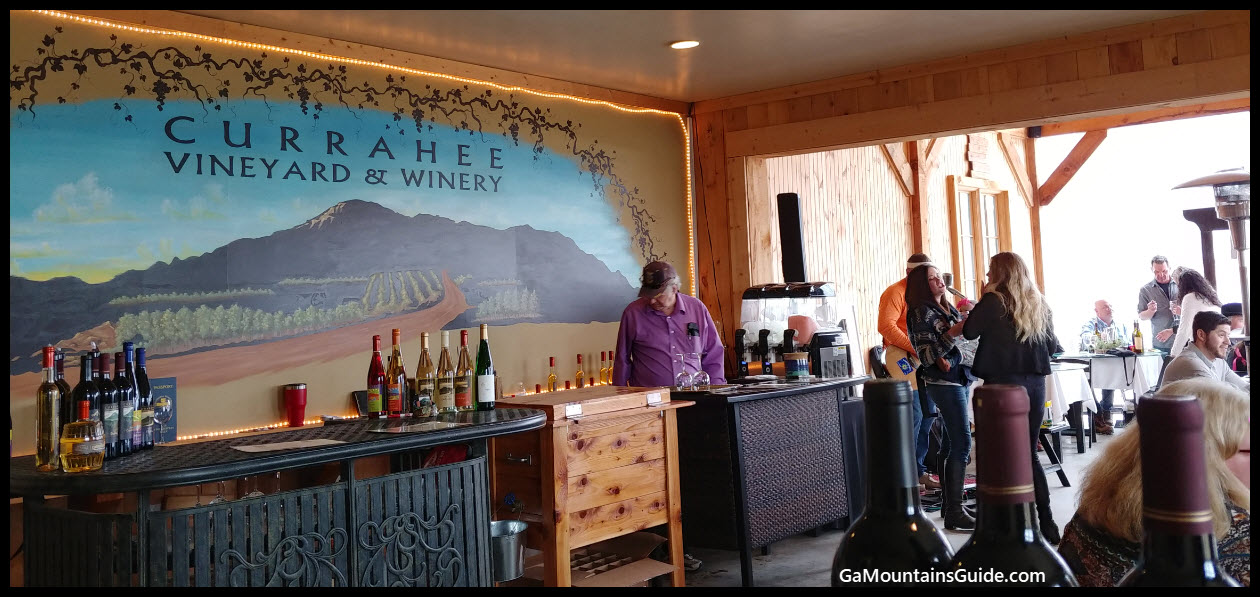 Currahee Vineyard & Winery - GaMountainsGuide.com