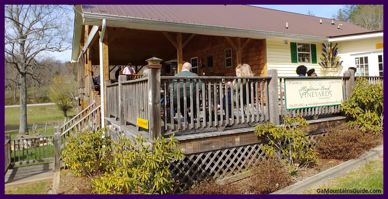 Hightower Creek Vineyards - GaMountainsGuide.com