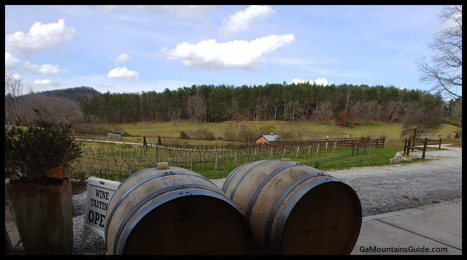 Stonewall Creek Vineyards - GaMountainsGuide.com