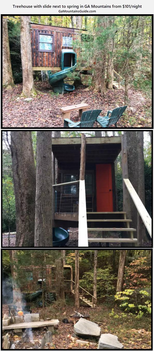 Kaluna's Treehouse Sanctuary - GaMountainsGuide.com