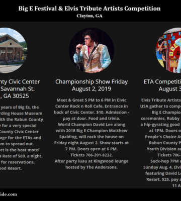 Annual Big E Festival Elvis Tribute Artists Competition