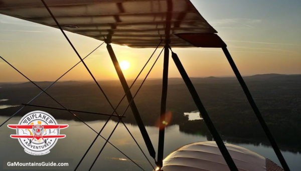 Biplane Adventures in the Georgia Mountains