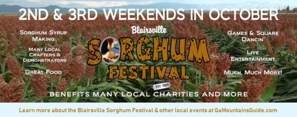 Blairsville Sorghum Festival in the North Georgia Mountains