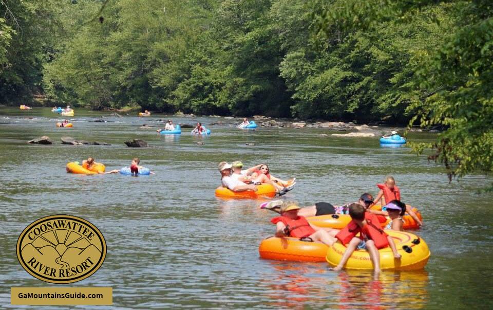 Coosawattee-River-Tubing-Georgia-Mountains