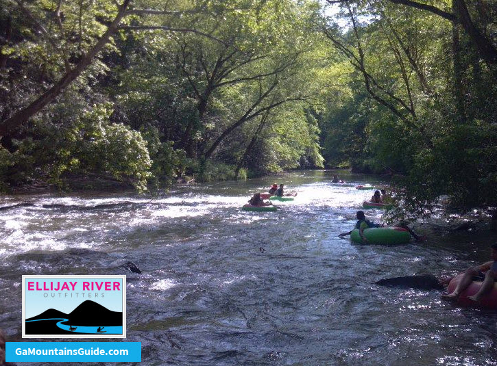 Ellijay-River-Outfitters-Tubing-Georgia-Mountains