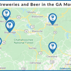 Map of North Georgia Breweries / Local Craft Beer