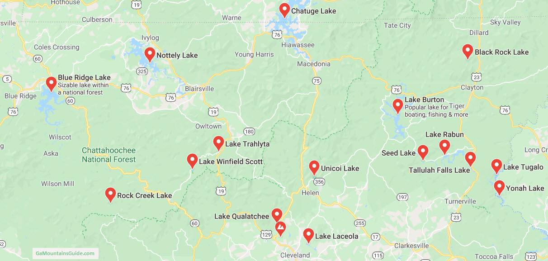 Map-North-Georgia-Mountains-Lakes