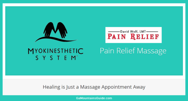 North Georgia Pain Relief Massage in Georgia Mountains