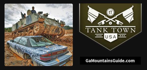 Tank Town USA Georgia Mountains Drive a Tank + Crush Car