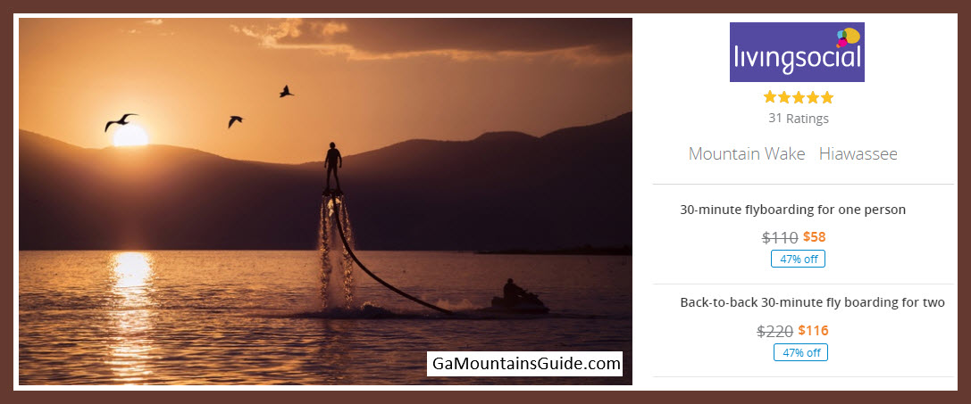 Flyboarding - GaMountainsGuide.om