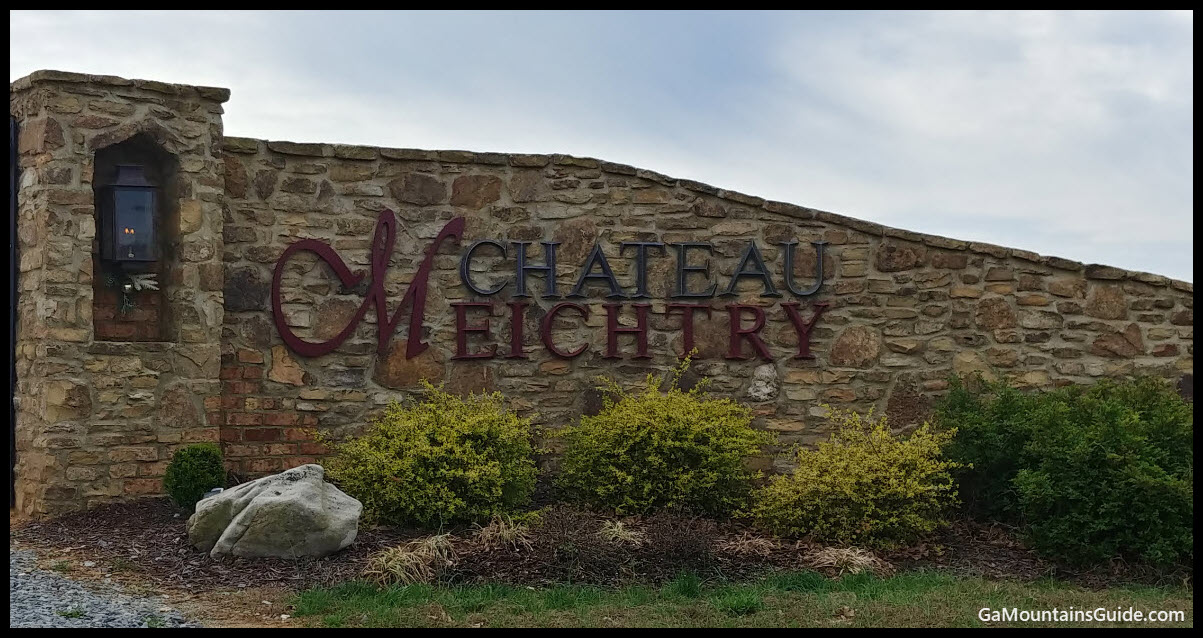 Chateau Meichtry Entrance - GaMountainsGuide
