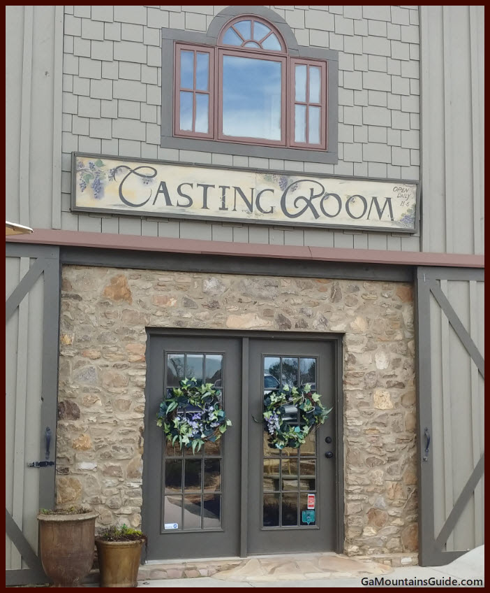 Chateau Meichtry Tasting Room Entrance - GaMountainsGuide