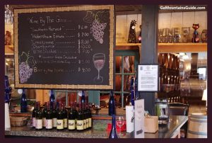 Habersham Winery Menu - GaMountainsGuide