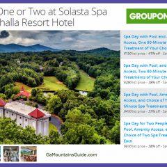 Solasta Spa at Valhalla Resort - GaMountainsGuide