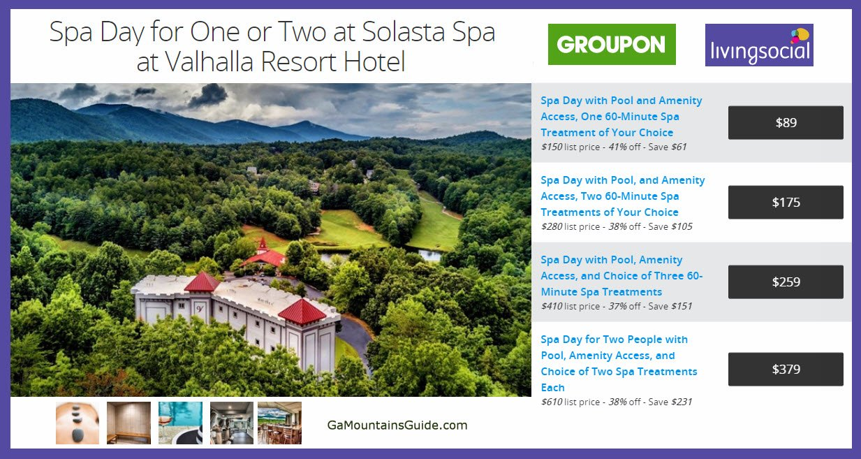Solasta Spa at Valhalla Resort - GaMountainsGuide