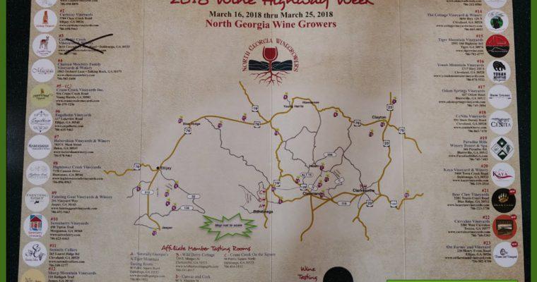 Wine Highway Passport Participants 2018