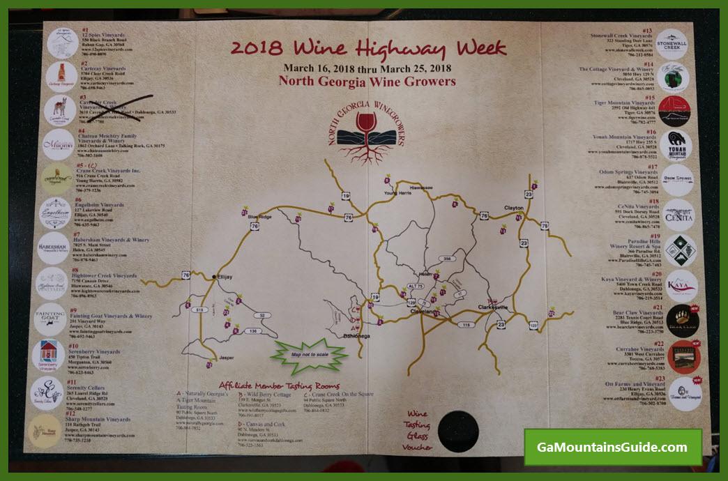 Wine Highway Passport Participants 201803