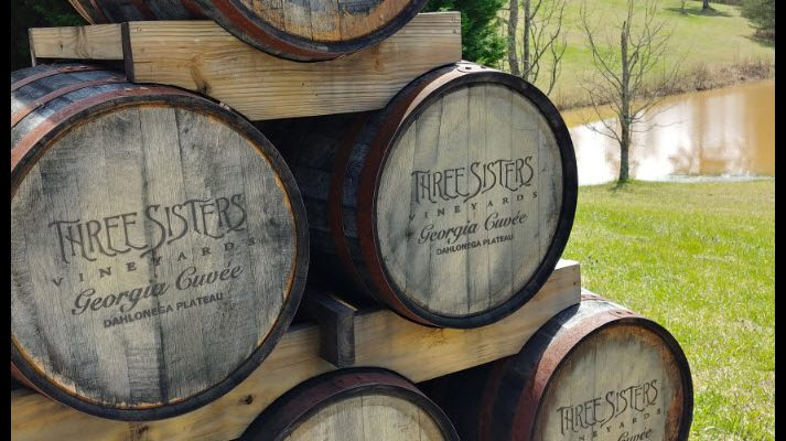 Three Sisters Vineyards Dahlonega Plateau