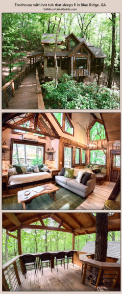 Inn The Ravine Luxury Treehouse Rental