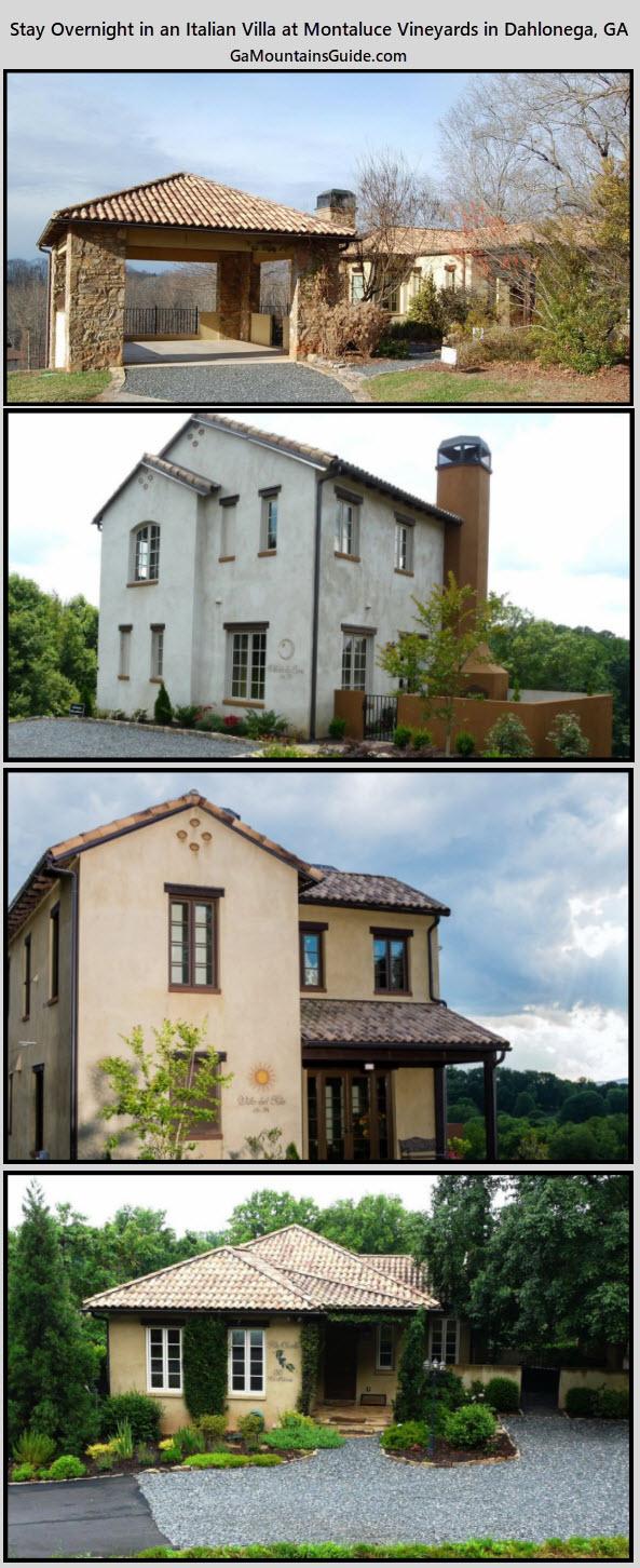 Stay at Italian Villas at Montaluce - GaMountainsGuide.com