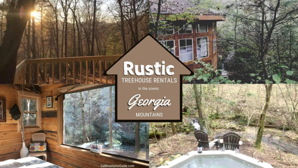 Rustic Treehouse Rentals in the Scenic Georgia Mountains