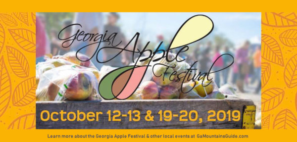 Georgia Apple Festival in the North Georgia Mountains