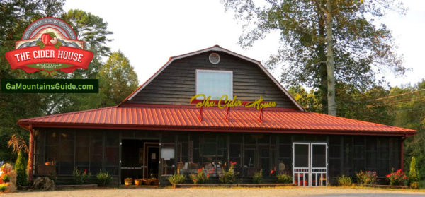 The Cider House Orchards in the North Georgia Mountains