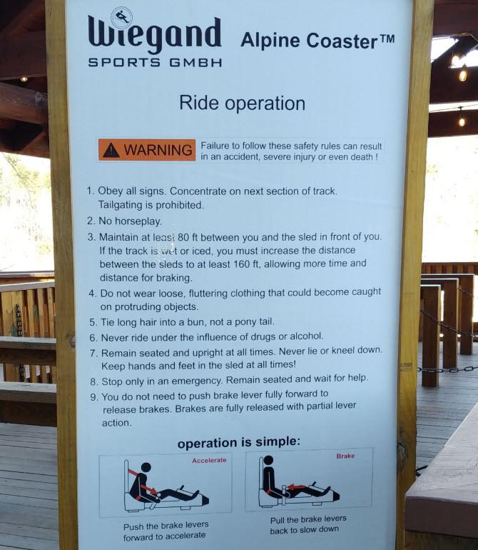 Georgia-Mountain-Coaster-Alpine-Helen-Ride-Operation