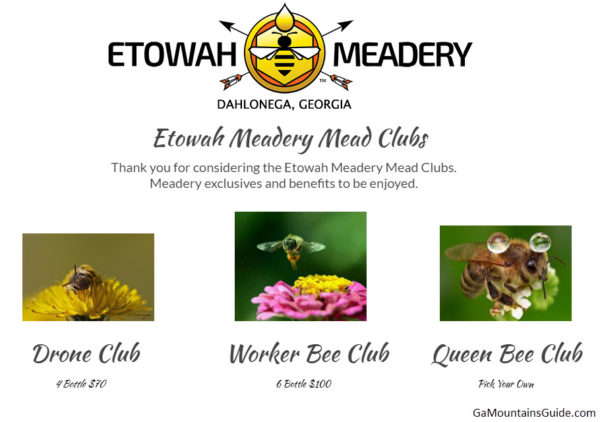 Etowah Meadery in the Georgia Mountains