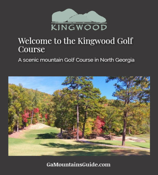 Kingwood Golf Course in the Georgia Mountains