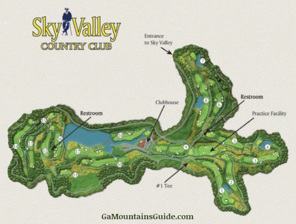 Sky Valley Golf at Sky Valley Country Club in the Georgia Mountains