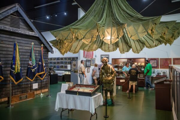 Free admission for veterans ALL YEAR at Currahee Military Museum