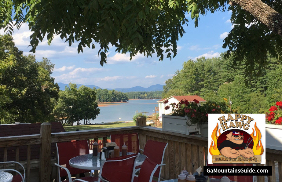 Happy-Hawg-Waterfront-Restaurant-Georgia-Mountains