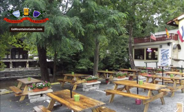 Hofbrauhaus Waterfront Restaurant in the Georgia Mountains