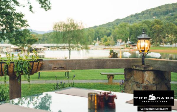The Oaks Lakeside Kitchen Waterfront Restaurant in the Georgia Mountains