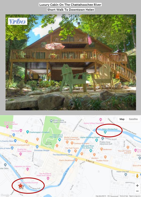 VRBO Property on Chattahoochee River within Walking Distance of Oktoberfest