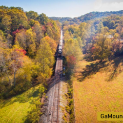 Blue Ridge Scenic Railroad in Blue Ridge GA