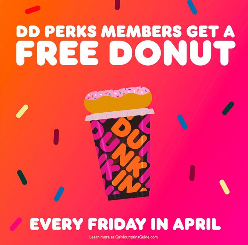 Dunkin-Donuts-Free-Donuts-DD-Perks-Members-2020-04