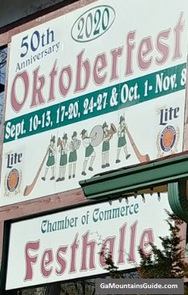 Helen GA Oktoberfest Dates for 2020 - 50th Anniversary Celebration!