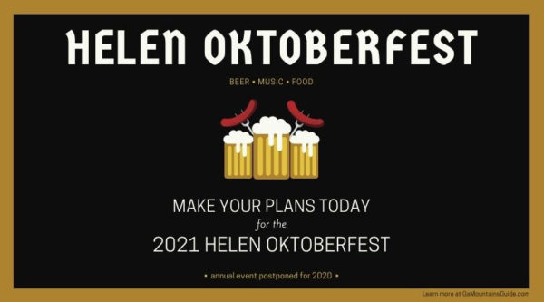 Helen Oktoberfest in the Georgia Mountains
