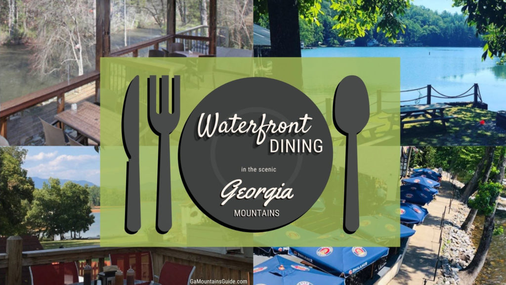 Waterfront Restaurants in the North Georgia Mountains