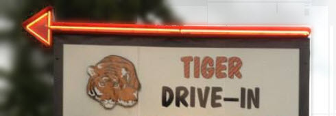 Tiger Drive-In Movie Theater in Tiger, GA