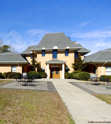 Creekstone Winery Tasting Room Entrance in Sautee Nacoochee