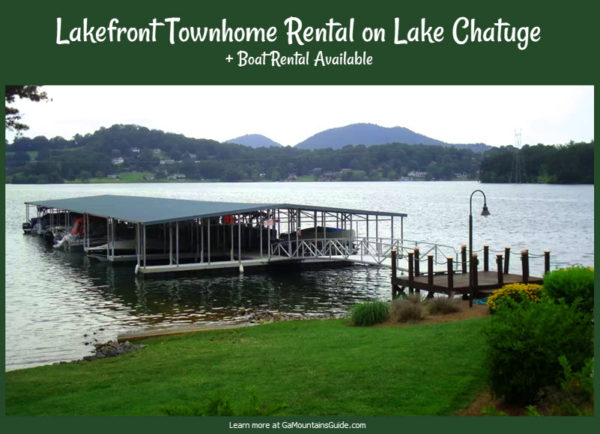 Lake Chatuge Waterfront Rental with Optional Boat