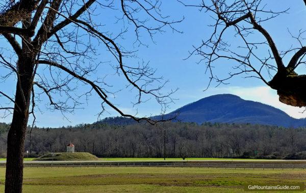 Nacoochee Indian Mound at Hardman Farm Historic Site