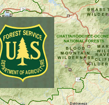 US Forest Service and Chattahoochee Oconee National Forests