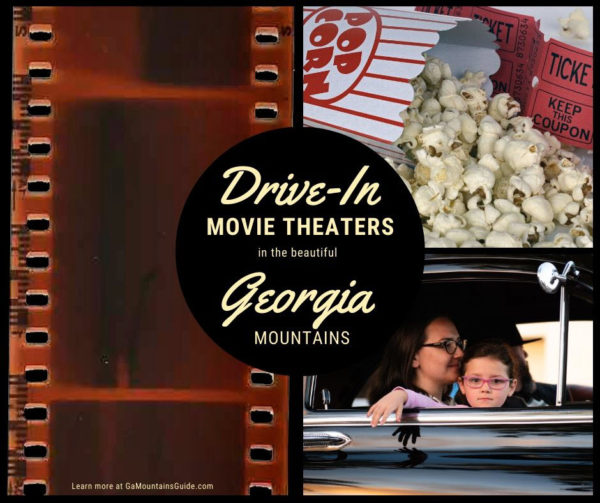 Drive-In Theaters in the beautiful North Georgia mountains