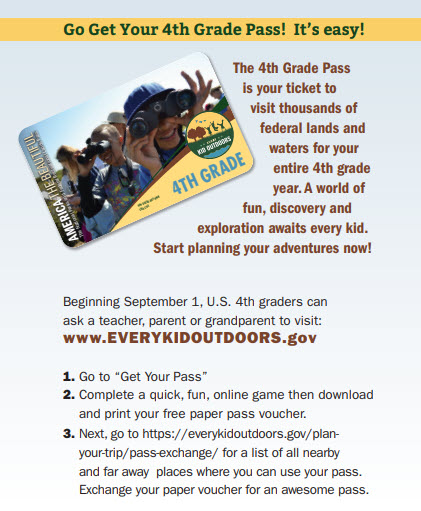 Every Kid in a Park - Free Parks Pass for 4th Graders