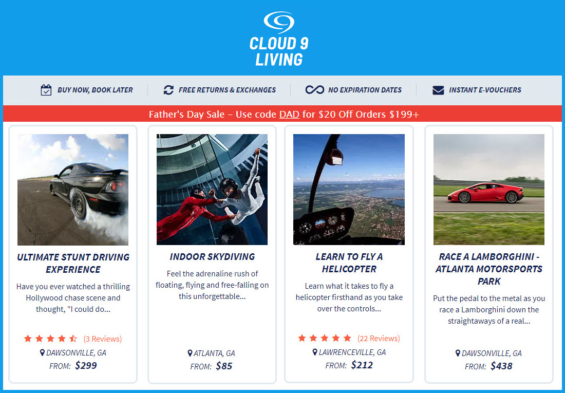 Fathers-Day-Georgia-Cloud-9-Living-Gift-Experiences-2020