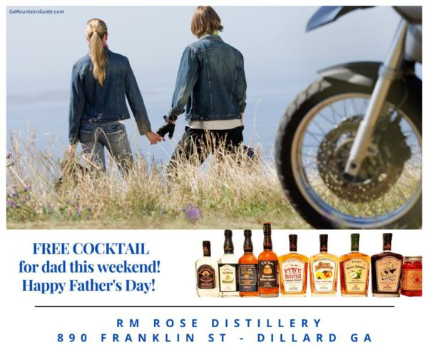 Free Cocktail for Dads at RM Rose Distillery for Father's Day